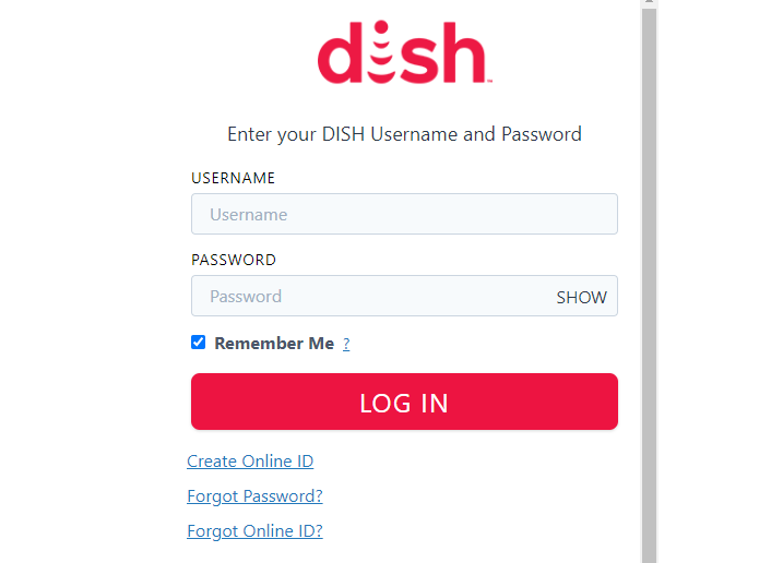 Dish Channel Activate