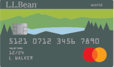 l.l.bean credit card logo