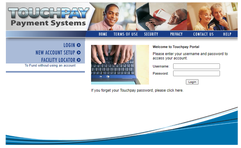 Touchpay Login
