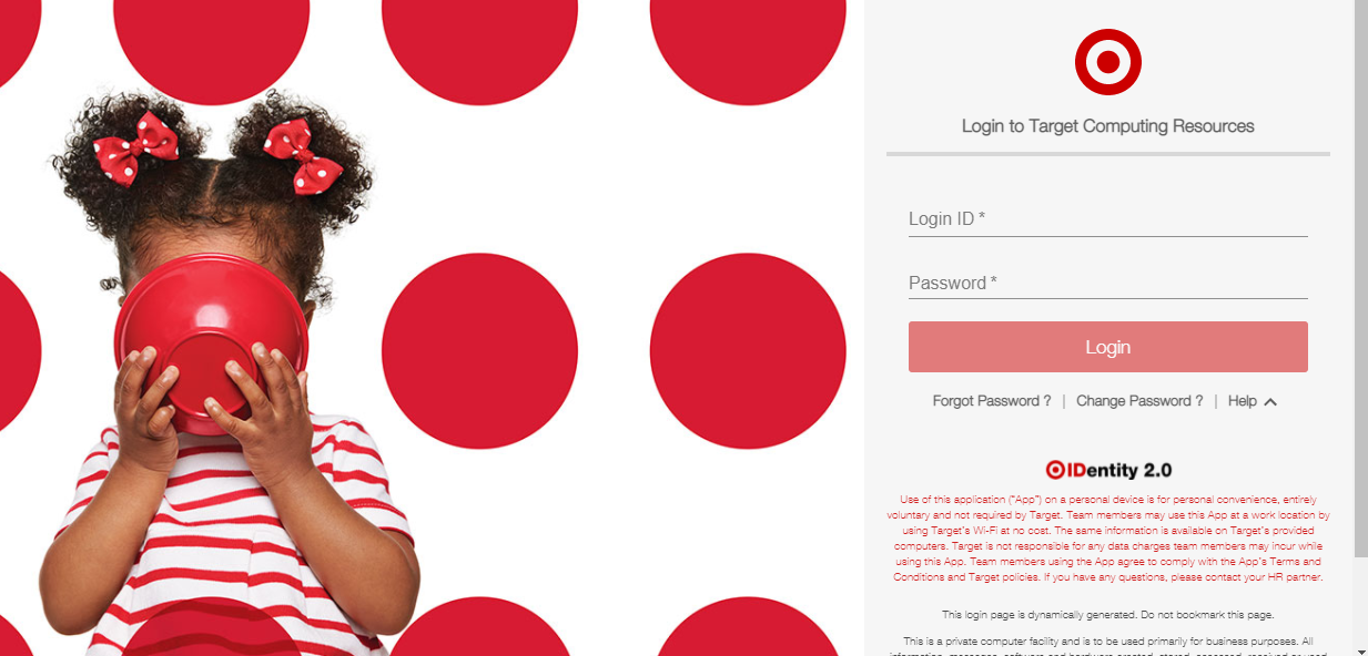 target employee schedule login