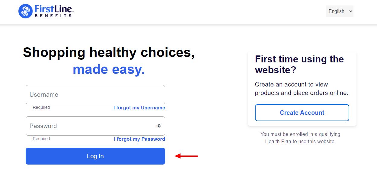 health products card login