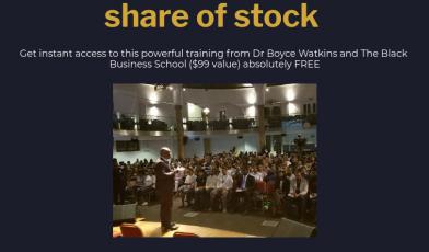 black stock market program