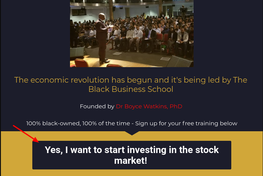 the black stock market program